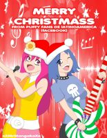 Puffy Ami Yumi Merry Christmass by xxMrMangakaxx