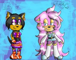 :COLLAB: Chica and Babeh by BabehDawl