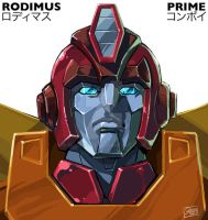 Rodimus Convoy by GuidoGuidi
