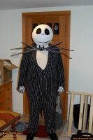 Jack Skellington Cosplay by 7ANYA