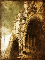 Amiens Cathedral Grunged by GrungeTV