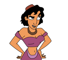 Princess Aladdin by nemryn
