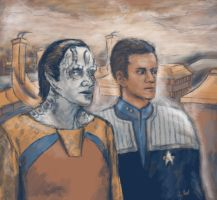 Star Trek DS9: Cardassia by redsailor