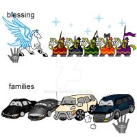 Pegasus and Cars by V-male