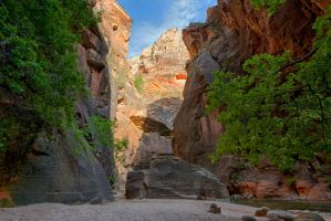 Narrows Beach Oasis by Bawwomick