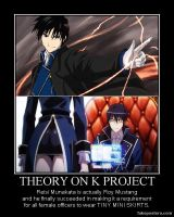 Theory on K Project by FurEmberLily