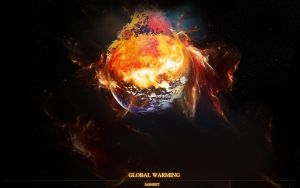 Global Warming-Burning Earth2 by fatality888