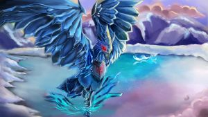 Classic Anivia- Riot Art Polycount Contest by Upnova