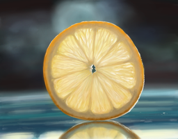 Lemon - Speed Painting by 11-73-3-33