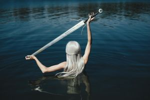 Lady of the Lake by vacuumkiller