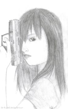 The Girl with The Gun by Sei-KunNoE