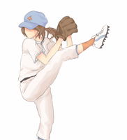 KH: She does the baseball by HazyDayClouds
