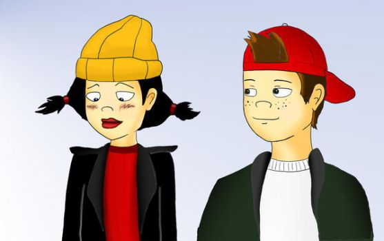 Spinelli and TJ colour by psychepirate