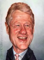 Bill Clinton by KaceySchwartz