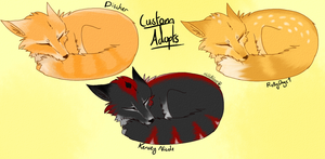 Cute Fox Custom Adopts 1 by Vallume