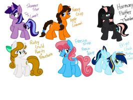 Mlp: Origin - Children of the Mane 6 by Icytherabbit1