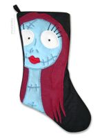Nightmare Before Christmas - Sally Stocking by smashworks