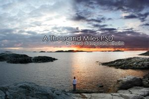 A Thousand Miles.PSD by Nullerpsd