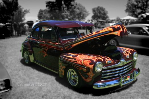 1946 Ford Coupe by FreakyLaurent