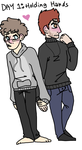 30 Day OTP Challenge Day 1: Holding Hands by castielbby