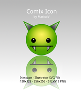 Comix Icon by MariuxV