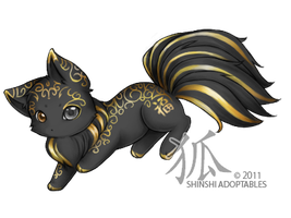 Katze-Kazet : Yin by ShinshiAdoptables