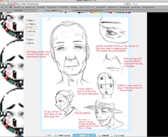 Tutorial 1.2: How to draw elderly. by Ragginess