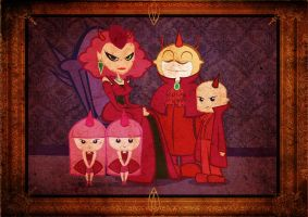 devil family by chuckTHEchick