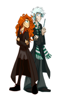 Griffindor And Slytherin by Belen-1999