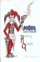 Dark Knight Harley Quinn by AtomykTickTock