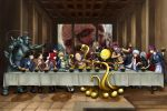 The Last Supper - Anime crossover version by pixelmotron
