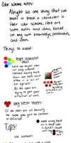 Color Scheme Tutorial and Tips by FreckledAndSpeckled