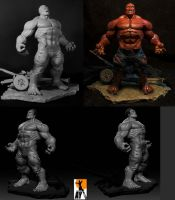Redhulk by AYsculpture