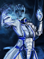 22_3_12 Liara T'Soni by Beverii