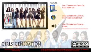 [ 2012 theme] Girls Generation Windows 7 Theme by HKK98