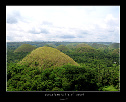 chocolate hills by boostr29