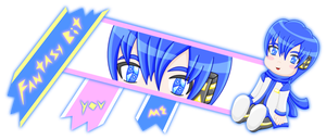 Fantasy Bit Kaito layout version 2 by MikariStar