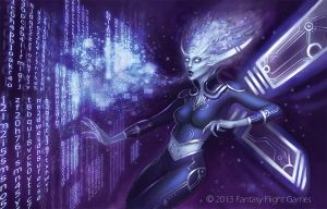 Android Netrunner Faerie by skdiesel