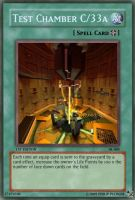 Test Chamber C33a card by OdaNobonaga