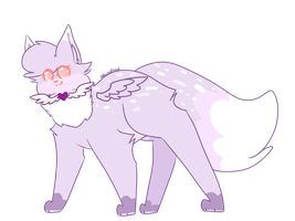.: A Friendly Lil' Floof :. by AlbinaReed