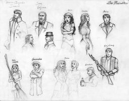 Les Miserables sketch page 1 by Nyranor