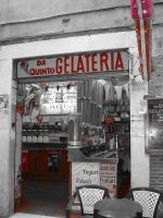 Gelateria in Roma by Nicothelord