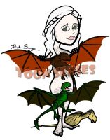Daenerys Targaryen - Game of Thrones by toonseries