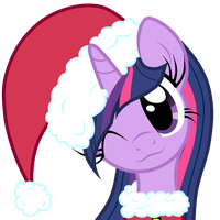 Santa Twilight Sparkle by Oathkeeper21