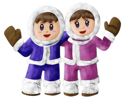 Ice Climbers by ShinFurevindo