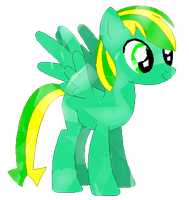 Electro as a Crystal pony (Request) by LR-Studios