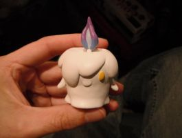 Pokemon #607 - Litwick - painted by Tommster