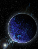 Ice Rock Planet by Pseudinymous