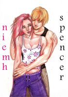 Niemh and Spencer by raemae