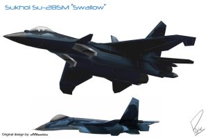 Sukhoi Su-28SM ''Swallow'' by PAK-FAace1234